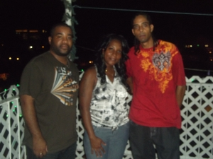 Rachel, Kyron, and Me